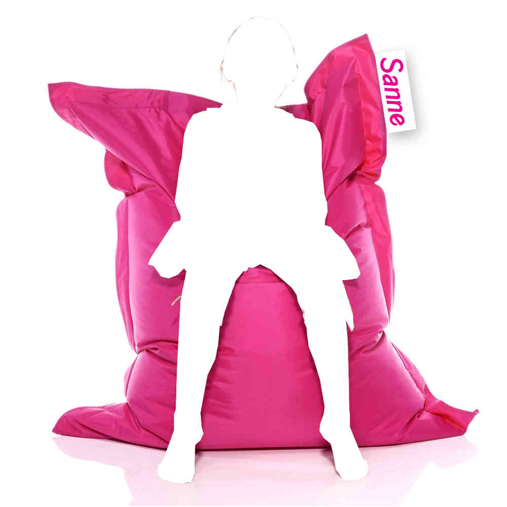 Roze Zitzak Goedkoop.Kinder Naam Zitzak 100x140 Cm Pink Roze