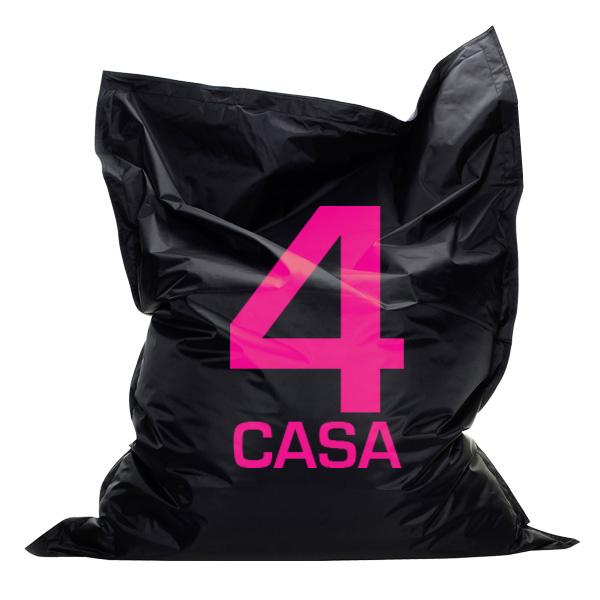 4 Casa Zitzak.Zitzak 100x140 Met Logo Bedrukt